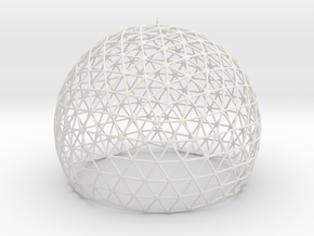 Dome Truss in White Natural Versatile Plastic