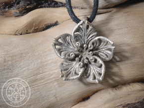 Blossom #5 in Polished Bronzed Silver Steel