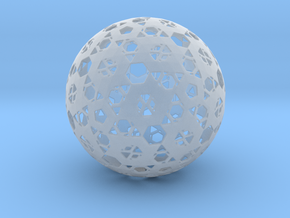 Hexa Mesh Sphere in Frosted Ultra Detail
