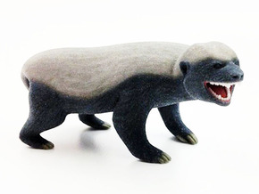 Honey Badger Doesn't Give a Crap in Full Color Sandstone