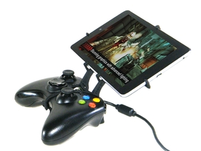 Xbox 360 controller & Samsung Galaxy Tab 4 7.0 3G in Black Strong & Flexible