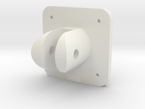 Spitfire Flap Selector Base in White Natural Versatile Plastic