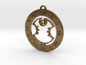 Archer - Pendant in Natural Bronze