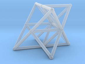 Rod Merkaba Supports OpenBase 4cm in Smooth Fine Detail Plastic