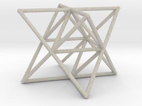 Rod Merkaba Supports 6cm in Natural Sandstone