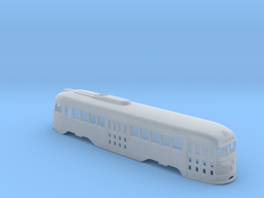 N Scale Prewar PCC TTC Body #2 in Smooth Fine Detail Plastic
