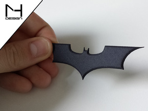 Batarang prop in Black Natural Versatile Plastic