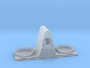 Eyeglass Stand in Smooth Fine Detail Plastic