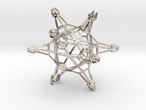 DodecaJack 6cm in Platinum
