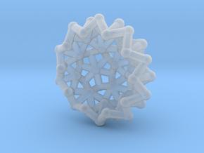 Tessa2 Half WireBalls - 1cm in Smooth Fine Detail Plastic