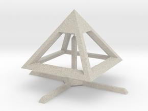 Pyramid Mike B 4cm in Natural Sandstone