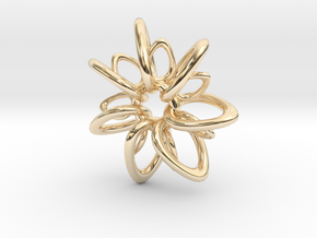 RingStar 7 points - 5cm in 14K Yellow Gold