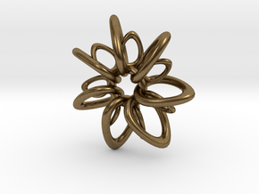 RingStar 7 points - 5cm in Natural Bronze