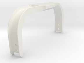 Bumper Rail Assembly in White Natural Versatile Plastic