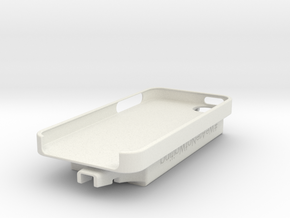 iPhone 5 / Dexcom Case - NightScout or Share in White Strong & Flexible