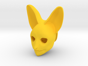 "BJD doll head SD ""Batty"" in Yellow Processed Versatile Plastic"