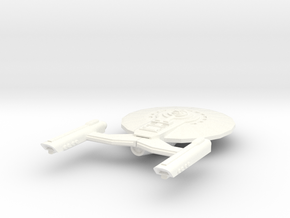 Expansion Class Destroyer in White Strong & Flexible Polished