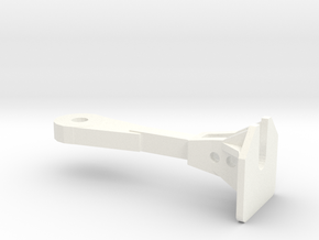 1:48 Nzr Coupler - Square in White Processed Versatile Plastic