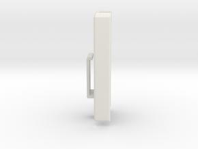Dexcom Case w/ArmBand Clip in White Natural Versatile Plastic