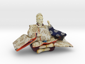 The Japanese Hina doll-4 in Full Color Sandstone