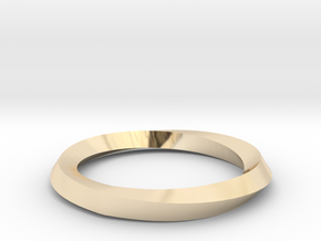 Mobius Wedding Ring-Size 7 in 14K Gold