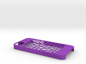 Honeycomb in Purple Strong & Flexible Polished