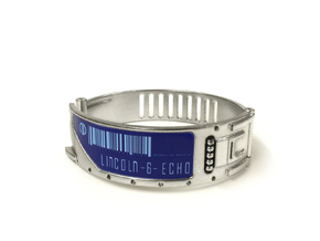 The Island ID Bracelet Replica Prop in Smooth Fine Detail Plastic