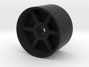 REON 1:1 MSE-6 Droid Front Wheel in Black Natural Versatile Plastic