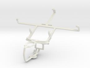 Controller mount for PS3 & ZTE Grand S Flex in White Natural Versatile Plastic