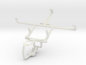 Controller mount for PS3 & ZTE Geek V975 in White Natural Versatile Plastic