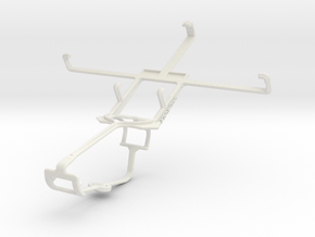Controller mount for Xbox One & XOLO Q1000 Opus in White Natural Versatile Plastic