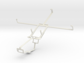 Controller mount for Xbox One & Yezz Epic T7ED in White Natural Versatile Plastic