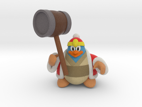 King dedede from the kirby series in Full Color Sandstone