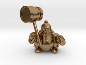 King dedede from the kirby series in Natural Brass