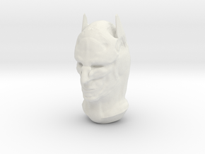 Epic I Drew Bruce Wayne And Added The Mask in White Natural Versatile Plastic