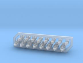 60SS03 1:6000 Nanuchka + Osa (8+8 models) in Smooth Fine Detail Plastic