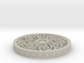 Four Elements Coaster in Sandstone