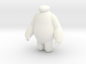 Big Hero 6 (Baymax) in White Processed Versatile Plastic