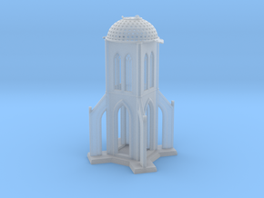 The Starch-Bishop's Palace in Smooth Fine Detail Plastic