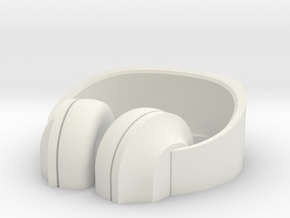 Headphone Stand#2 in White Natural Versatile Plastic