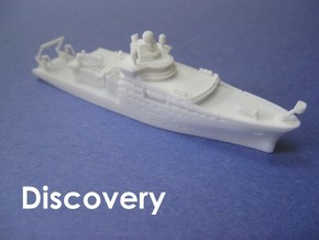 RRS Discovery (2013) (1:1200) in White Natural Versatile Plastic: 1:1200