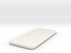 IPhone6 Dummy in White Natural Versatile Plastic