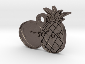 Love Fruits Carved in Stainless Steel