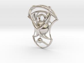 Essence Pendant in Platinum