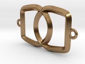 Linked Bottle Opener in Natural Brass