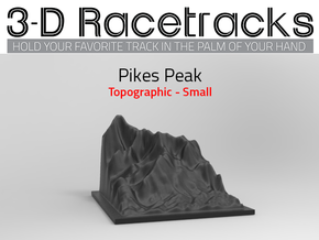 Pikes Peak / Half in Black Natural Versatile Plastic