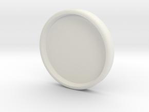 Storz C gasket plug - Dichtungsstopfen für Storz-C in White Natural Versatile Plastic
