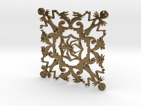 Nightmare Snowflake in Natural Bronze