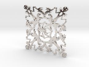 Nightmare Snowflake in Platinum