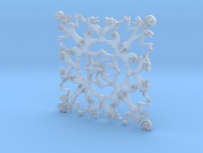 Nightmare Snowflake in Smooth Fine Detail Plastic